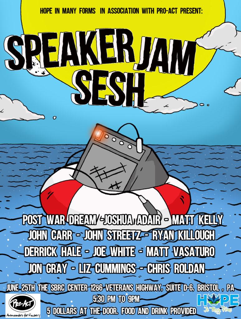Speaker Jam Sesh